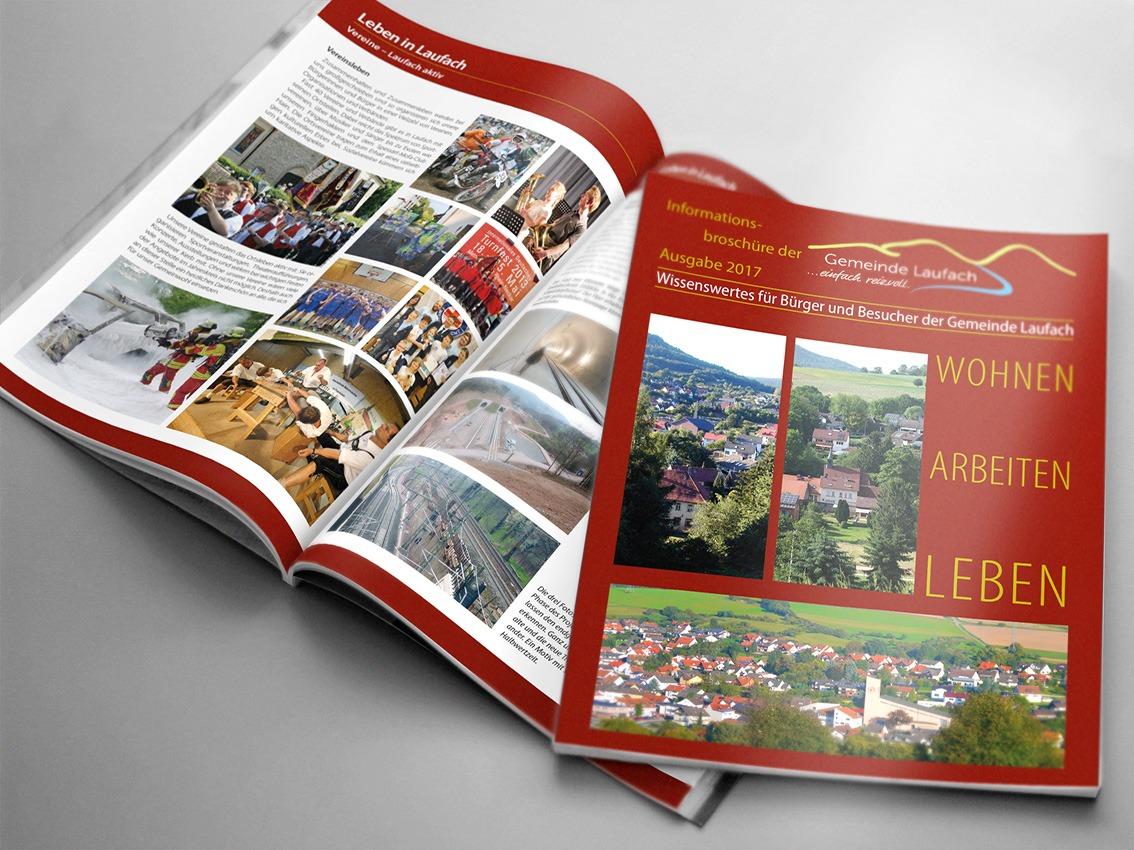 Info-Broschüre Gemeinde Laufach