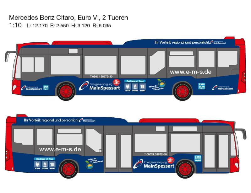 Entwurf Busbeschriftung